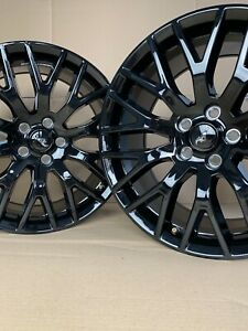 19 Full Set Ford Mustang Gt Factory Oem Wheels Tires Staggered 10036 10038