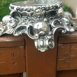 Vintage Colony Silver Ornate Pitman Dreitzer Stand For Punch Bowl No 11 1