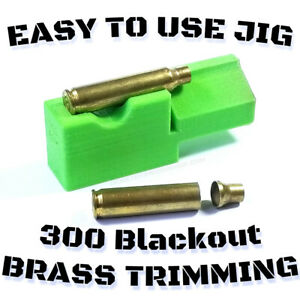 5.56 .223 To 300 Blackout Trimming Jig 2#x27;#x27; Chop Saw Rear Eject Scratchless $11.99