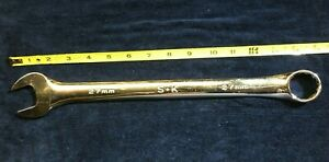 Sk S k Tools 88327 27mm Combination Wrench Full Polish Un used Usa