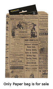 Newsprint Paper Small Merchandise Bags 6 X 9 Inches Lot Of 1000
