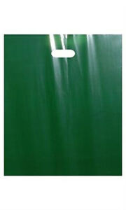 Low Density Merchandise Bags Large In Dark Green With Die Cut Handles 500 Pc