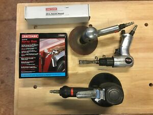 Assorted Air Tools For Auto Body Work craftsman Mpc Tools