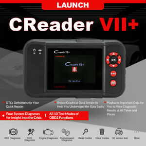 Launch X431 Vii Obd Auto Diagnostic Tool Scanner Engine Transmission Abs Srs At