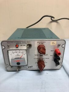 Power Designs 5005s 0 50vdc Regulated Dc Source Power Supply