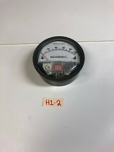 Dwyer Magnehelic 2100c Differential Pressure Gauge 15 Psi Fast Shipping