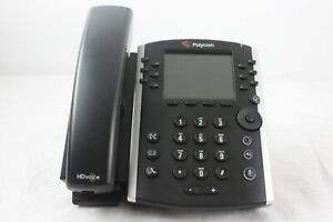 refurbished Polycom Vvx 400 Voip Business Phone W Handset Stand