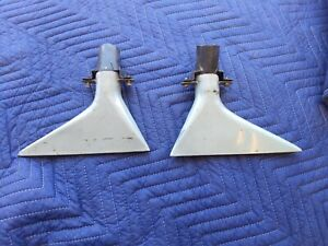 1967 Nissan Patrol 60 G60 L60 Pair Of Metal Defroster Vents Nice Condition