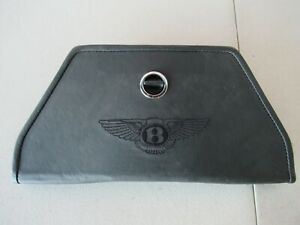 Bentley Continental Gt Roadside Reflective Warning Triangle Leather Holder Oem