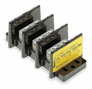 Bussmann 16005 3 Power Terminal Block pack Of 1
