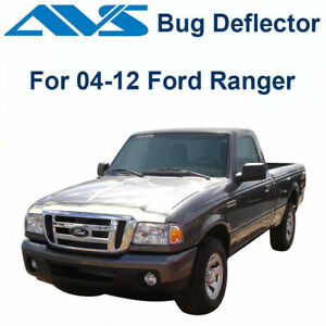 Avs Aeroskin 622021 Chrome Hood Protector Bug Shield For 04 12 Ford Ranger