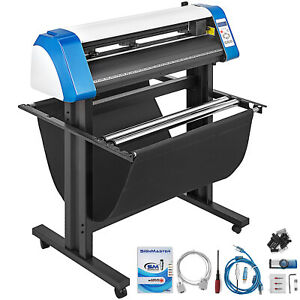 34 Vinyl Cutter Plotter Sign Cutting Graphics Cut Stickers Print Signmaster Usb