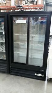 Used Beverage Air Mt17 Two section Refrigerated Merchandiser