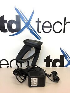 tdx240 Metrologic Ms1690 Usb Focus Scanner W Stand Powersupply Mk1690 61b14