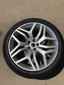 2016 Range Rover Sport Autobiography Rim And Tire New Oem 22