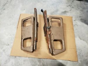 1988 94 Chevy Gmc Truck Suburban Tahoe Yukon Bucket Seat Tracks 1 Set Tan
