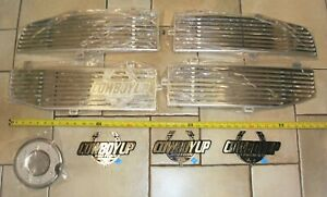 Cowboy Up Trucks 8 Pcs Dodge Ram 1500 2500 3500 Chrome Grill Accessories New