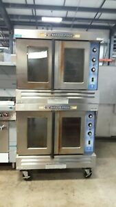 Used Bakers Pride Gdco g2 Double deck L p Gas Convection Ovens