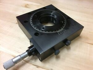 Newport 471 Rotation Stage With Micrometer Superb Condition High Resolution