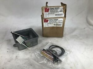 Federal Signal Corp Alarm 350 Horn Mounting Kit 400hmk ac New