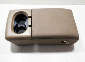 2004 2005 2006 2007 2008 Ford F150 Jump Seat Center Console Armrest Tan