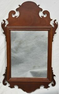 Kittinger Williamsburg Reserve Collection Mahogany Chippendale Mirror