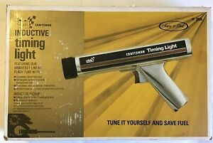 Vintage 1983 Sears Craftsman Inductive Timing Light Gun In Box Model No 28 2134