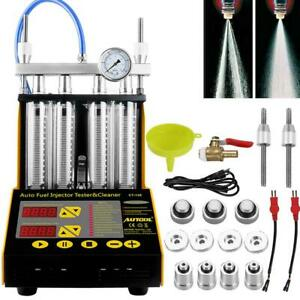 Autool Ct150 Car Motorcycle Ultrasonic Gasoline Injector Cleaner Tester Us