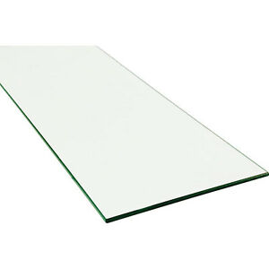 Shelf Glass Plate 12 X 34 Inches With Polished Edges