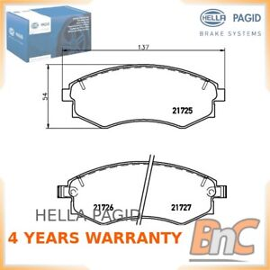 Oem Hella Pagid Heavy Duty Front Disc Brake Pad Set For Hyundai Kia Mitsubishi