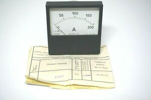 0 200a Dc 1 5 Russian M42300 Ammeter Current Meter Amp Analog Panel Meter