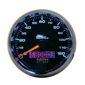 Auto Meter Speedometer Gauge 19340 Pro Cycle 0 To 120 Mph 2 5 8 Electrical