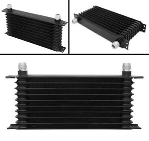 10 Row Universal Alloy Racing Engine Transmission Oil Cooler An10