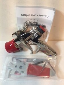 Genuine Sata Jet 3000 K Hvlp 1 2 Automotive Spray Gun W Adam Dock 2018 Model
