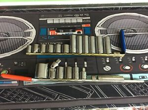 S K Tools Craftsman 1 Channel Lock Various Sized Socket Lot Of 18 See Pics