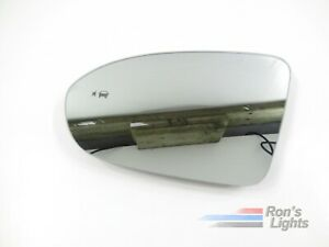 2016 2017 2018 Chevy Cruze Side Mirror Lens W Blind Spot Oem Lh driver Used