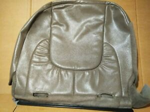 2002 2005 Dodge Ram Leather Rear Bench Seat Backrest Back Rest Small Cover Skin