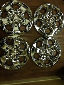 4 ford Fusion 17 Hubcaps Hub Caps Wheelcovers Chrome 2010 2011 2012 Wheel Cover