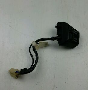 88 89 Honda Prelude Black Steering Wheel Mounted Cruise Control Switches Oem