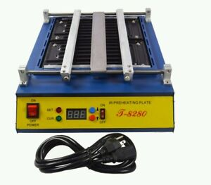1600w Preheater Soldering Machine Infrared Ir Pcb Preheat Oven Iron Heating Melt