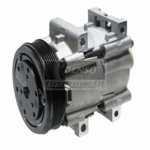 Denso Auto Parts A c Compressor And Clutch P n 471 8109