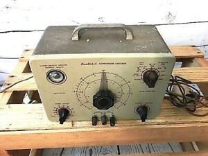 Heathkit C 3 Condenser Checker Capacitor Tester With Probes