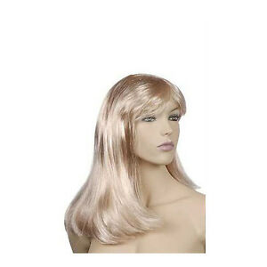 Mannequin Wig In Synthetic Platinum Blonde