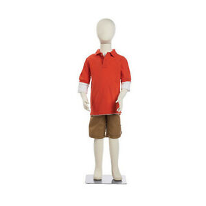New Retails Flexible 7 Year Old Child s Mannequin With 47 Tall With Head