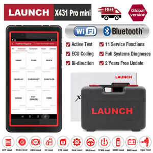 Launch X431 Pro Mini V V Obd2 Diagnostic Scanner Full Car Model Tpms Oil Reset
