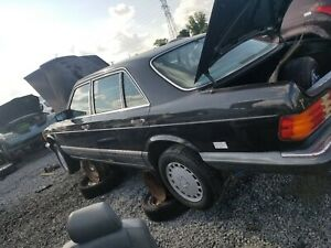 86 91 Mercedes W126 350 Front Right left Leather Seat Oem
