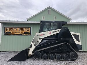 2012 Terex Pt100g Positrack Skid Steer Loader Asv 99hp High Flow Cheap Shipping