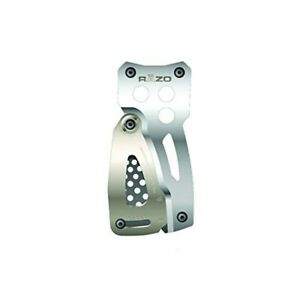 Carmate Razo Car Pedal Competition Sports Accelerator Pedal S Silver Rp81 F s