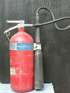 Fire Extinguisher 10 Pound Carbon Dioxide General 10 rh 8 b c