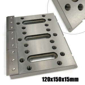 Stainless Steel Jig Tool Wire Edm Fixture Board For Clamp Level 120x150x15mm Usa